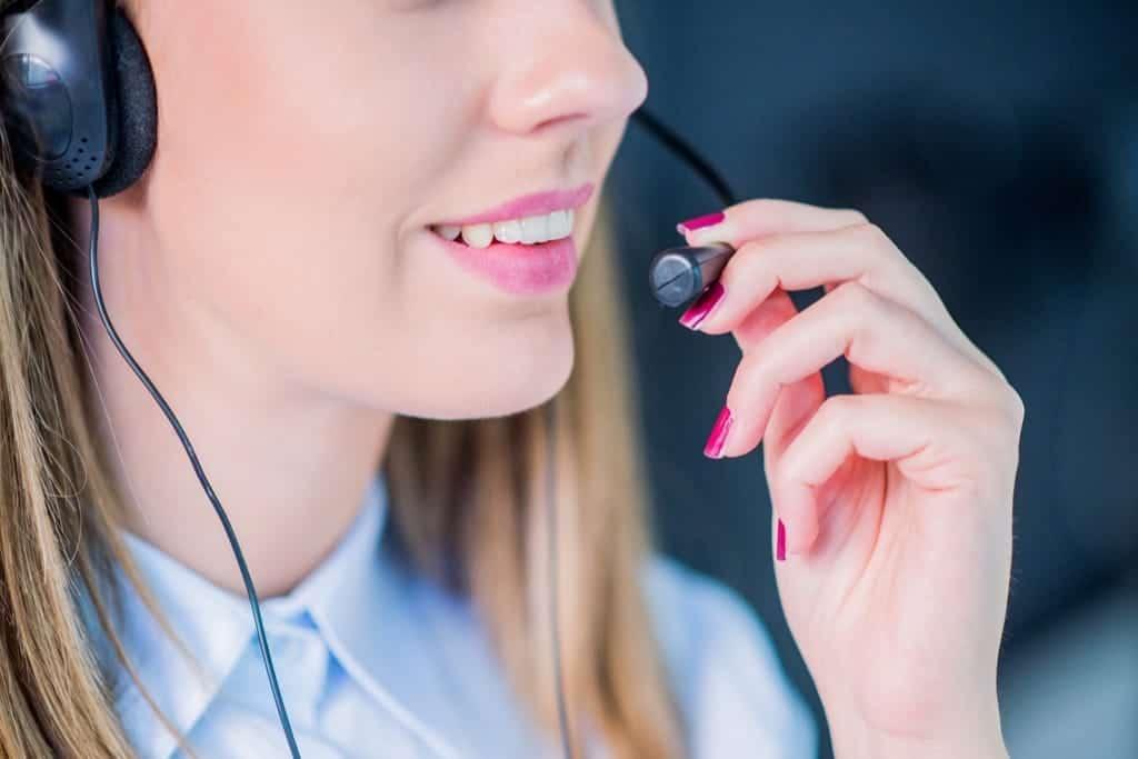 inbound call center duties